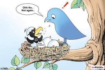 Twitter account block
