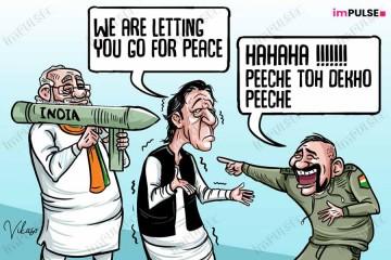 Modi Imran Abhinandan