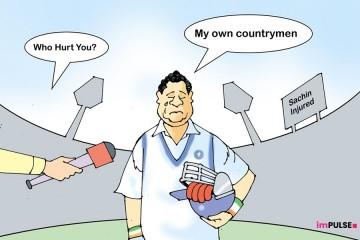 Sachin cartoon